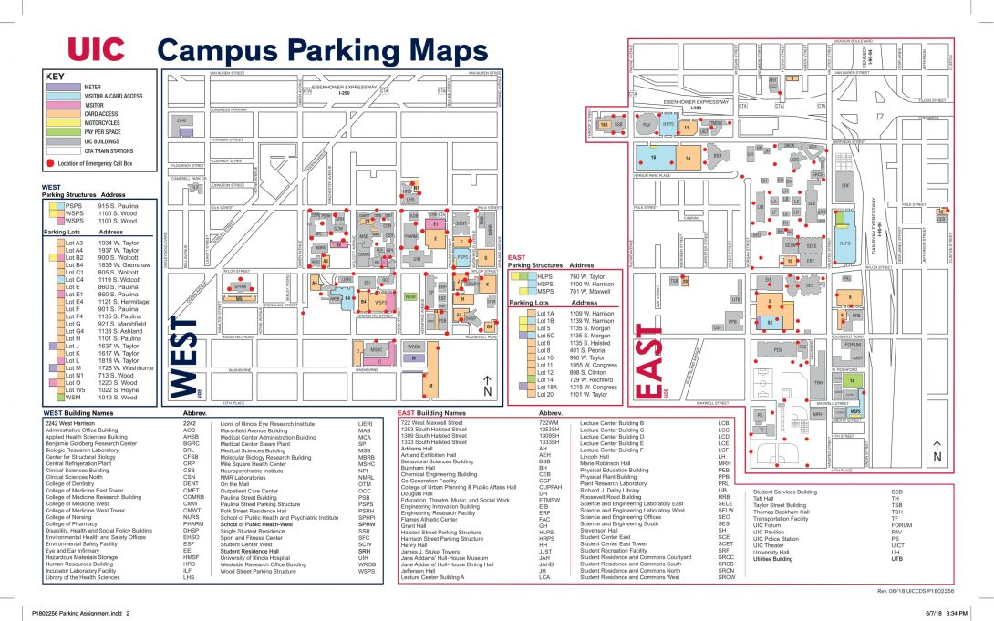 Uic Parking Services Staff Advisory Council University Of Illinois At Chicago